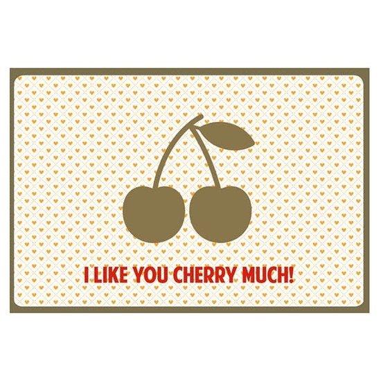 Enfant Terrible Kaart - I like you cherry much - Enfant Terrible