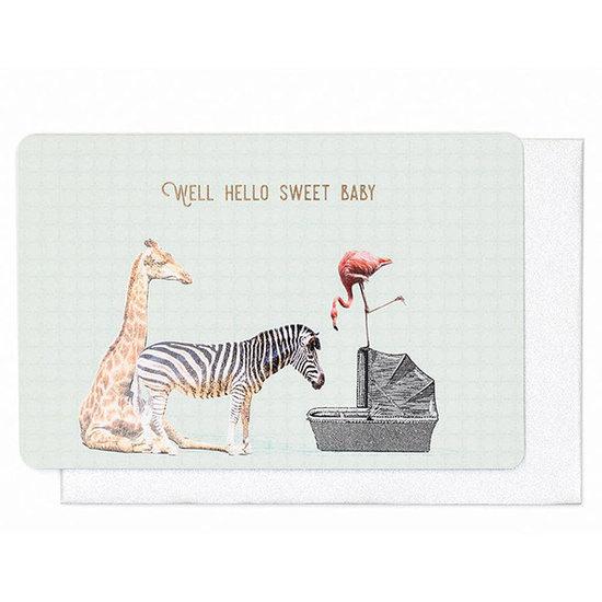 Enfant Terrible Kaart - Well hello sweet baby - Enfant Terrible