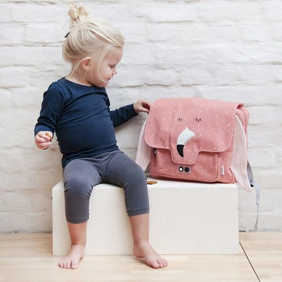 Trixie Baby Schulranzen - Frau Flamingo - Trixie