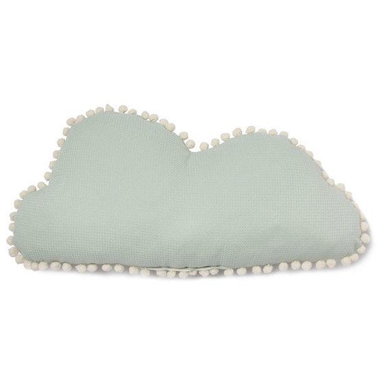 Nobodinoz tipi en accessoires Cushion - Marshmallow Cloud - Aqua mint - Nobodinoz