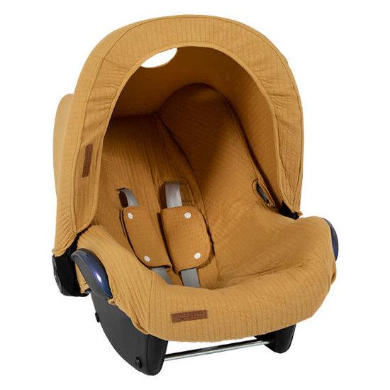 Little Dutch Little Dutch auto stoel kapje Pure Ochre