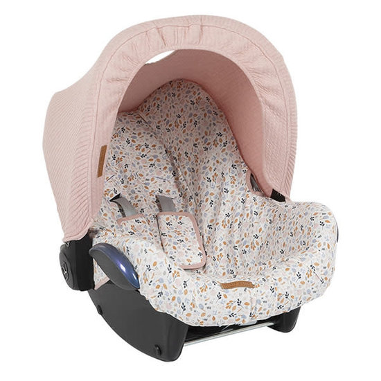 Little Dutch Little Dutch auto stoel kapje Pure pink