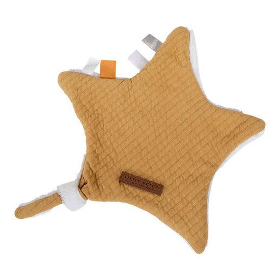 Little Dutch Little Dutch Baby comforter - star - Pure Ochre