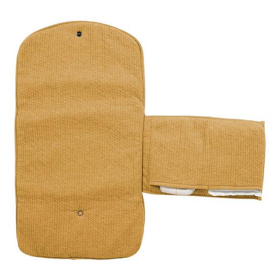 Little Dutch Little Dutch travel changing mat or pad - Pure Ochre