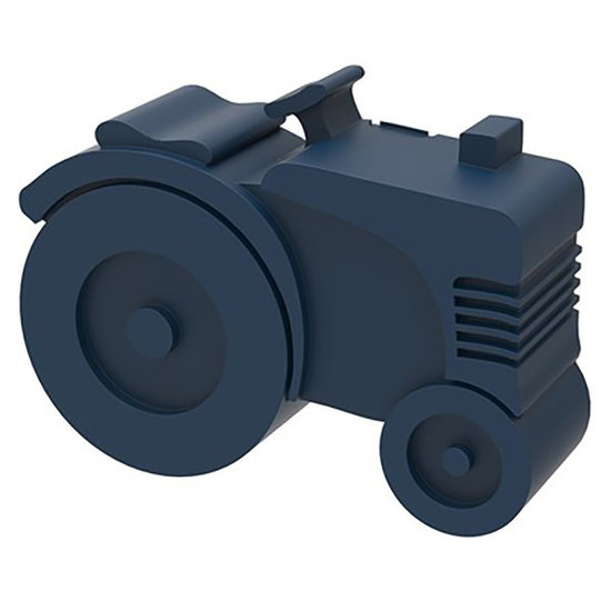 Blafre Lunch box tractor Navy - Blafre