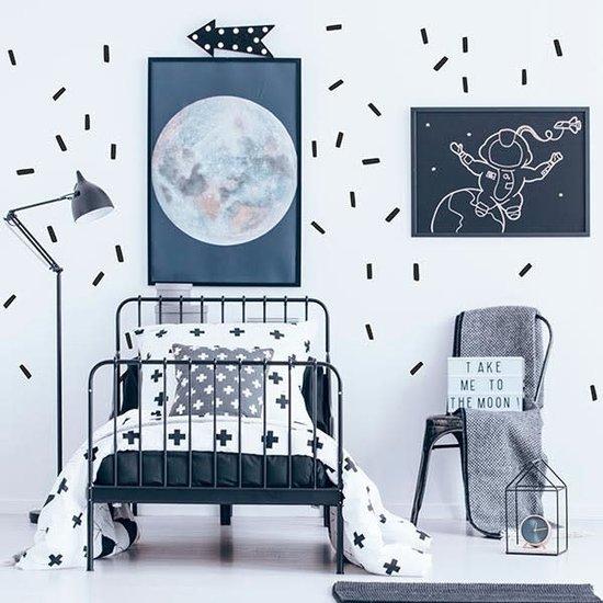 Pom Le Bonhomme Wall stickers sticks black - Pöm Le Bonhomme - set of 60