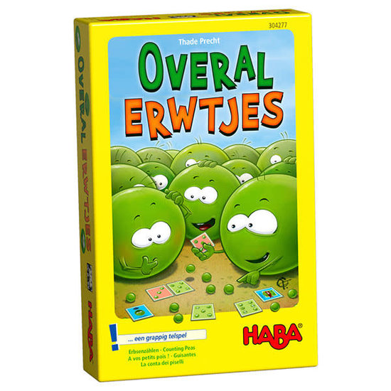 Haba Math game - Counting Peas - Haba +6 years
