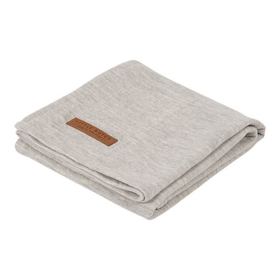 Little Dutch Little Dutch swaddle doek 120 x 120 - Pure Grey
