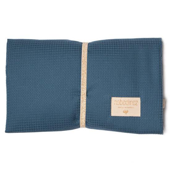 Nobodinoz tipi en accessoires Wickelunterlage - Mozart waterproof - Night Blue - Nobodinoz