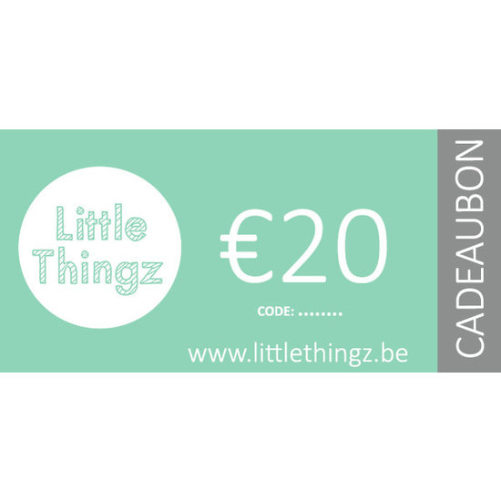 Little Thingz Cadeaubon €20
