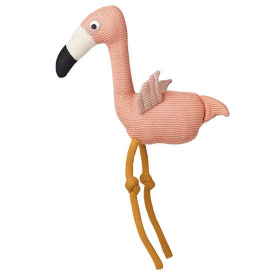 Liewood Teddy bear - Dextor knit teddy - Flamingo coral rose - Liewood