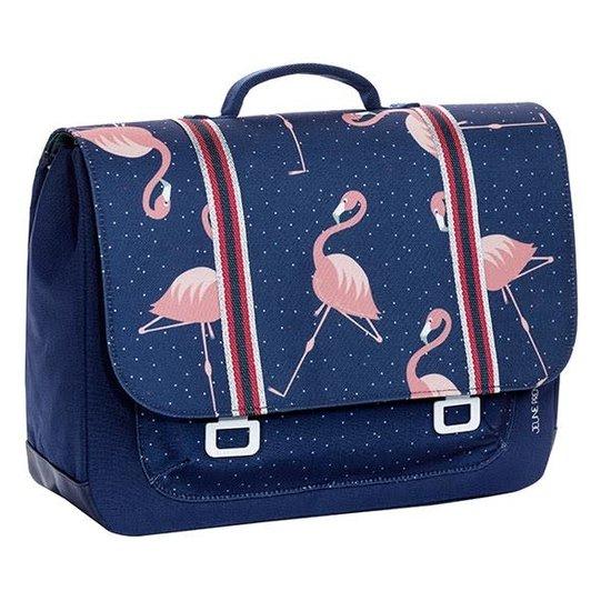 Jeune Premier boekentas School bag it bag Midi Flamingo - Jeune Premier