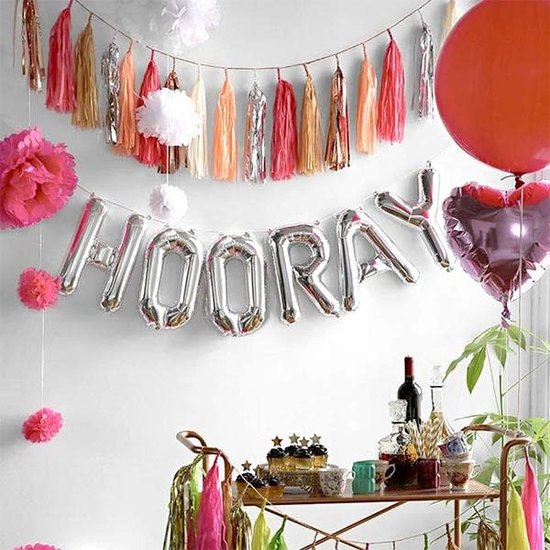 Northstar Balloon - letters - silver - 40 cm - Northstar - O