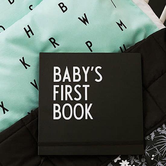 Design Letters Design Letters - babyboek - Baby's First Book - zwart