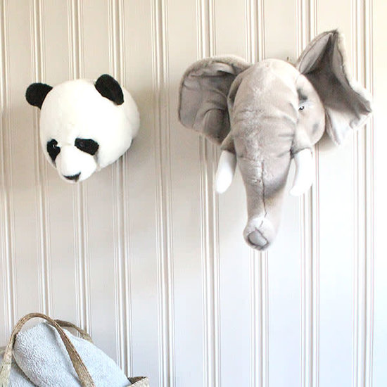 Bibib - Wild and Soft Dierenkop - trofee - Panda Thomas - Bibib - Wild and Soft