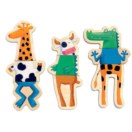 Djeco Djeco - magneten - gekke dieren