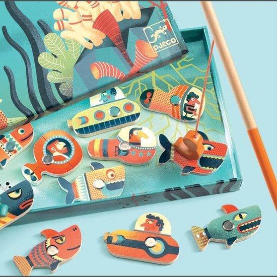Djeco Djeco - magnetic fishing game - Fishing Shark