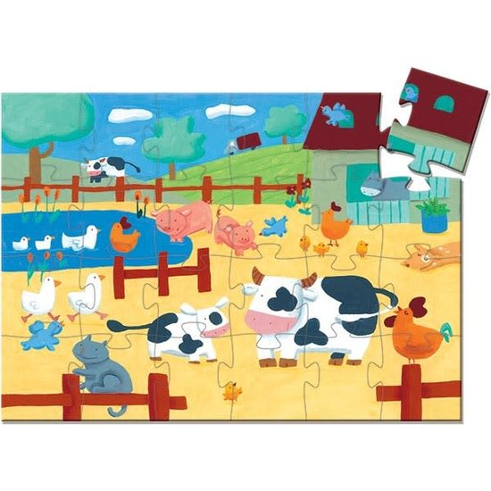 Djeco Djeco - Puzzle - Kuh - 3 Jahre - 24 Stk
