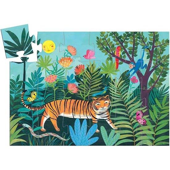 Djeco Djeco - puzzel - tijger - 3 jr - 24 stks