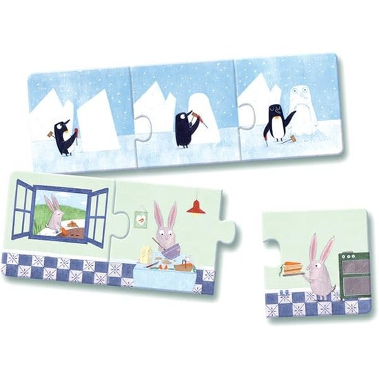 Djeco Djeco - puzzel trio verhaaltjes +3jr