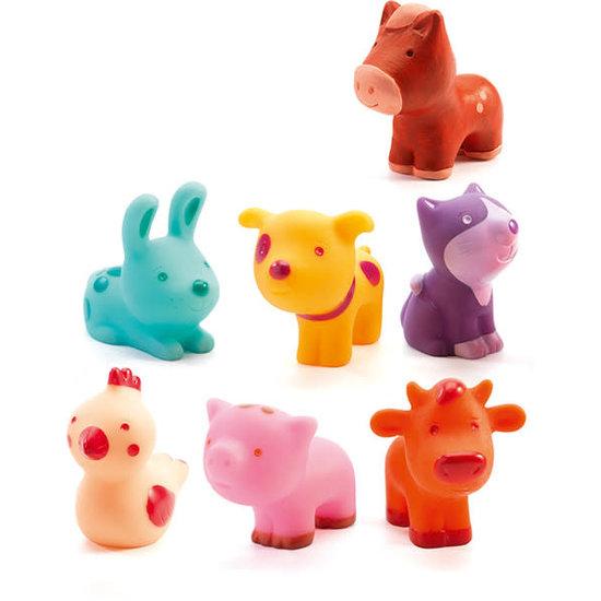Djeco Djeco - speelgoed boerderijdieren - Troopo-farm +18M