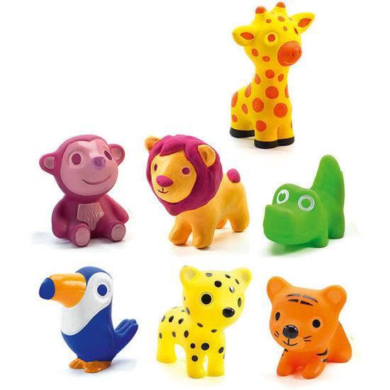 Djeco Djeco - jungle animal toys - Troopo-savana + 18M