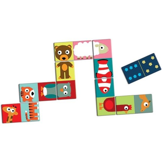 Djeco Domino - Animo - dieren - puzzel - Djeco