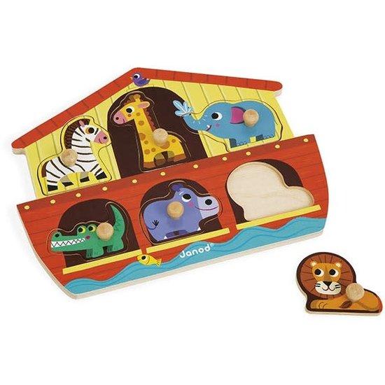 Janod speelgoed Janod - legpuzzel - Noah's ark