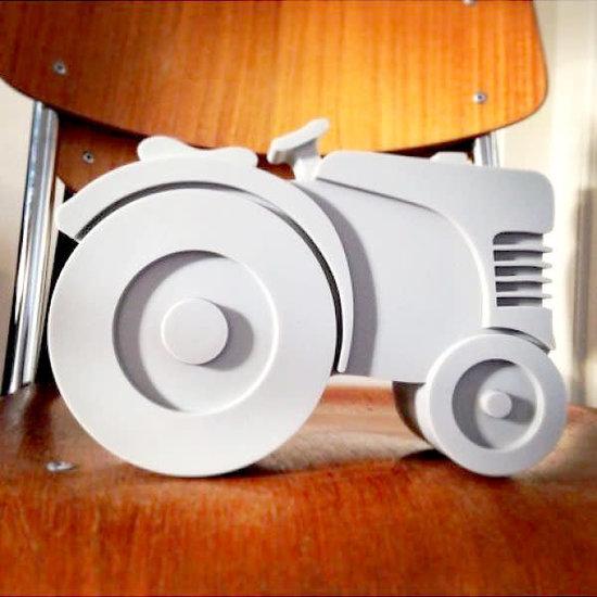 Blafre Lunchbox Traktor grau - Blafre