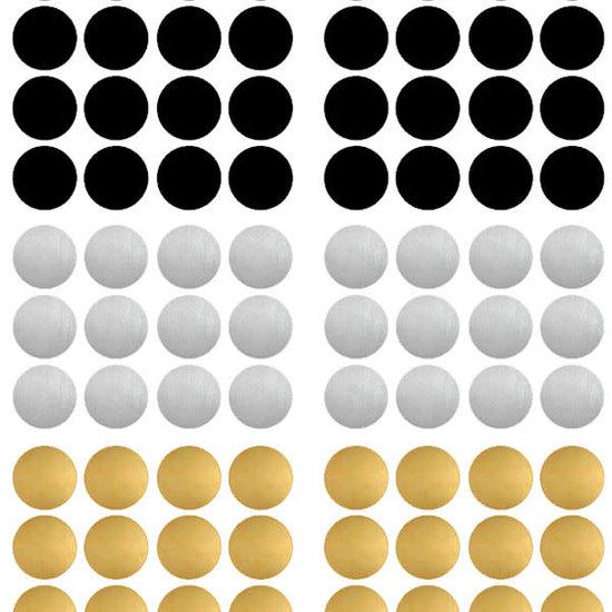 Pom Le Bonhomme Muurstickers confetti Chic - Pöm Le Bonhomme - set 80 stickers