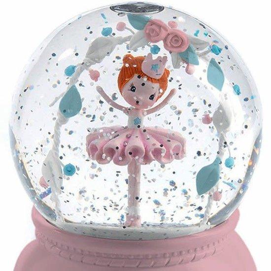 Djeco Djeco nachtlampje sneeuwbol ballerina