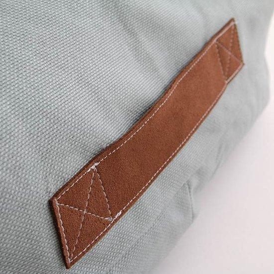 Nobodinoz tipi en accessoires Nodbodinoz Pure Line - Oasis Sitzsack - Riviera blau