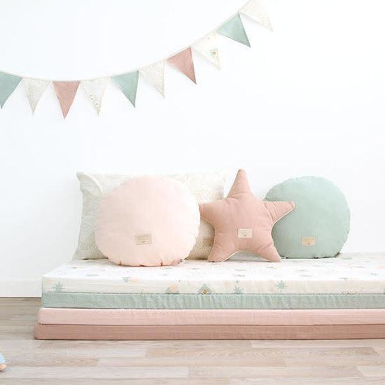 Nobodinoz tipi en accessoires Nobodinoz speelmat Colorado - Elements - White Bubble-Misty Pink