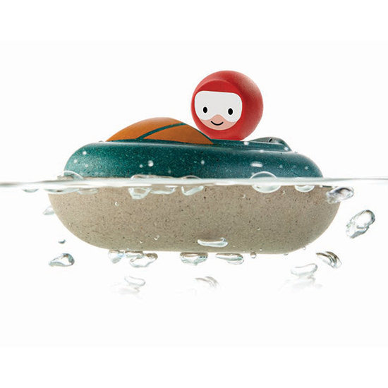 Plan Toys Bath toy - speed boat - Plan Toys +1 yr