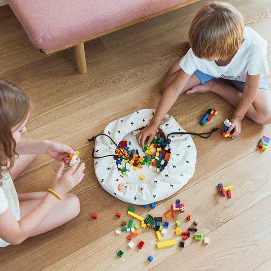 Play and Go Play and Go - opbergzak - speelzak - Mini Thunderbolt - bliksem