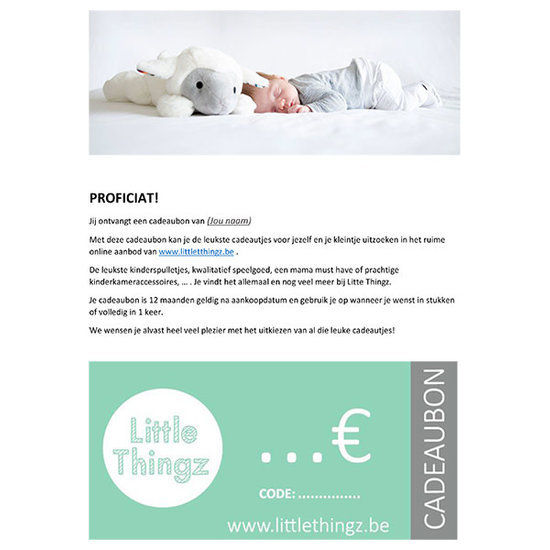 Little Thingz Cadeaubon €500