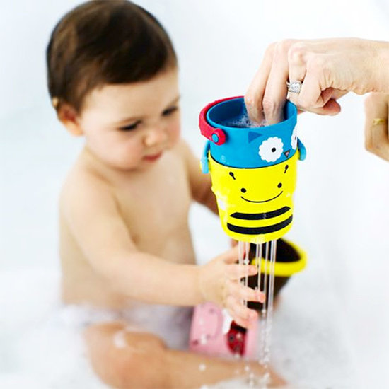 Skip Hop Bath toys stack and pour buckets ZOO Skip Hop