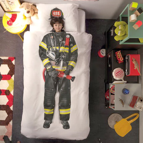 Snurk beddengoed Snurk - dekbedovertrek brandweerman