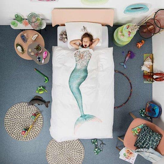 Snurk beddengoed Snurk - dekbedovertrek zeemeermin