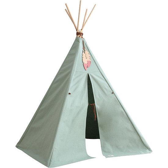 Nobodinoz tipi en accessoires Tipi Nevada - Nobodinoz Pure Line - Provence mint groen