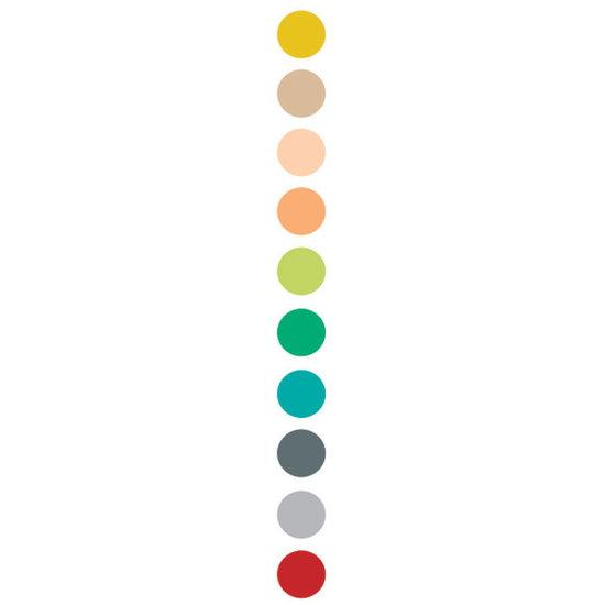 Djeco Djeco 10 dubbele viltstiften - tertiaire kleuren