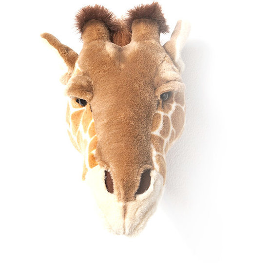 Bibib - Wild and Soft Tierkopf - Giraffe Ruby - Bibib - Wild and Soft