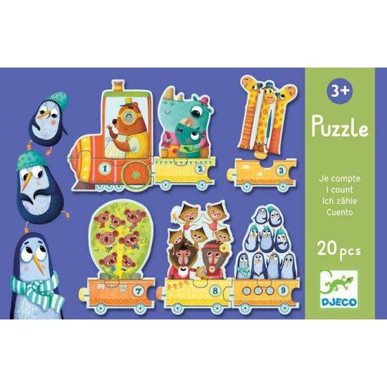 Djeco Pädagogische Puzzle - Ich zähle - Djeco
