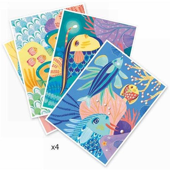 Djeco Djeco - kleuren op nummer - Onder de zee +7jr