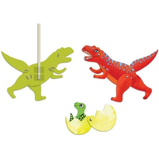 Djeco Djeco - craft - Jumping Jacks - dinosaurs 6-11 yrs