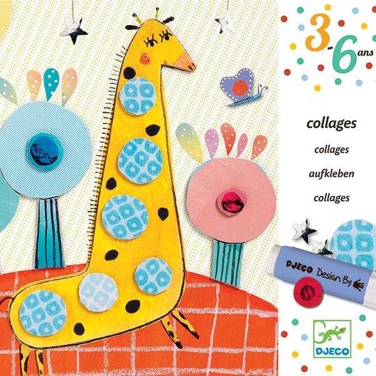 Djeco Basteln - Collage für die Kleinen - So Pop - Djeco +3 Jahre