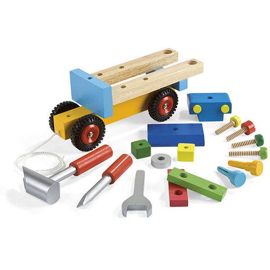 Janod speelgoed Janod - DIY speelgoed vrachtwagen +2jr