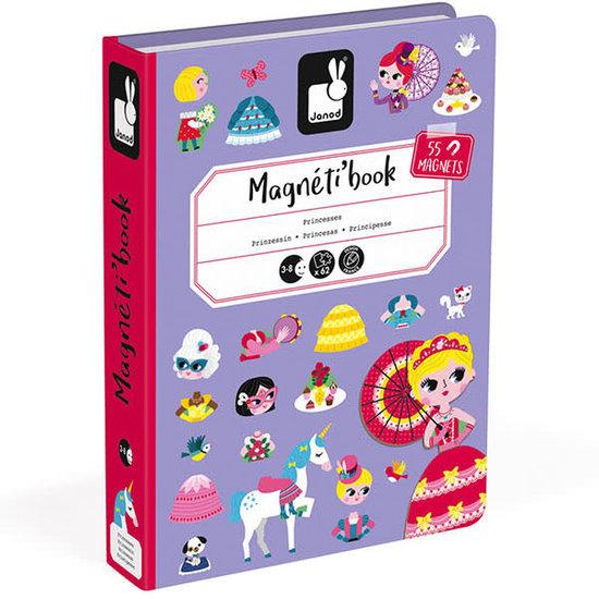 Janod speelgoed Janod - magneetboek prinsessen - 62st 3-8jr