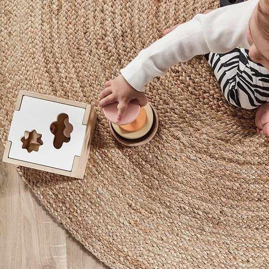 Kid's Concept Kids Concept - blokkendoos - vormenstoof - Neo +1jr