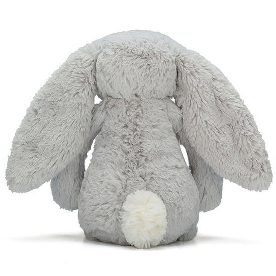 Jellycat Kleines Kuscheltier Hase Jellycat Bashful Bunny Small - grau